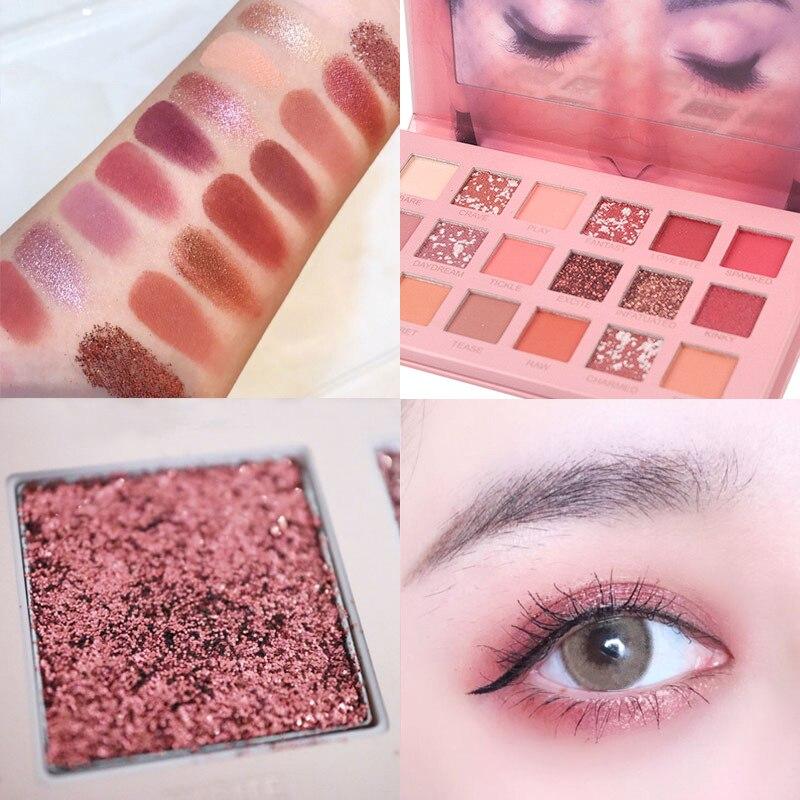 Eyeshadow Pallete 18 Color Colorful Waterproof Concealer Makeup Pallete Lasting-Effect Eye Shadow