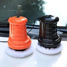Полировальная машина для автомобиля оранжевая/черная машинка для воска уход за автомобилем полировщик полировка авто