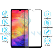 Gulymm Glass For Xiaomi Redmi Note 7 Note7 Tempered On The Screen Protector Full Cover