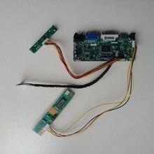 "LCD LED DVI HDMI VGA Aduio kontroler diy płyta sterownicza do 15.4 ""30pin LTN154X1 L02/LTN154AT01 1280X800 Panel ekran"