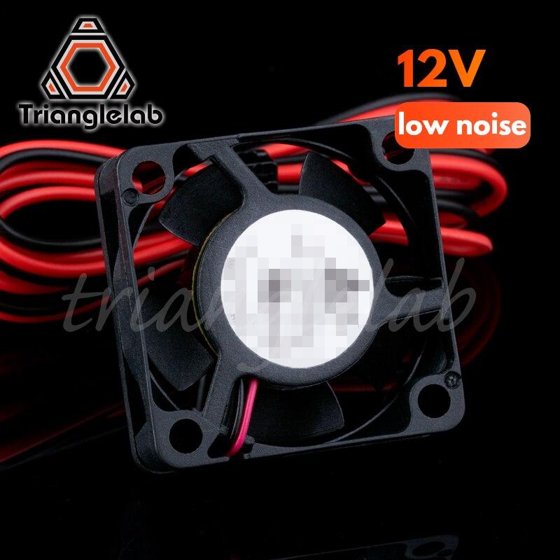Малошумный вентилятор Trianglelab 3010 для 3D-принтера, деталь 30x30x10 мм, охлаждающий вентилятор 30 мм, маленький Бесщеточный Охлаждающий вентилятор 12 ...
