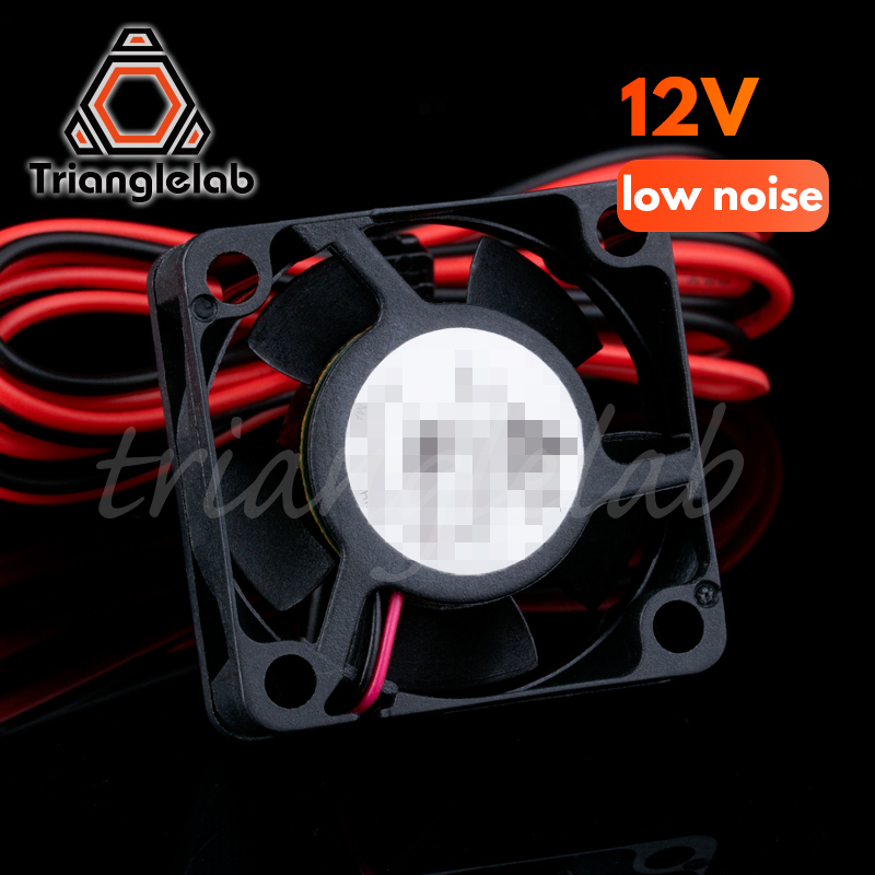 Trianglelab Low Noise 3010 Fan 3D Printer Part 30 X 30 X 10mm Cooling Fan 30mm Small DC 12V/24V  Brushless Cooling Cooler Fan
