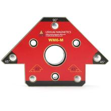 WM6-M Welding fixer Arrow-type Magnetic Holder Welding Fixture Nd-Fe-B Corner Welding Magnets Right Angle Clamp