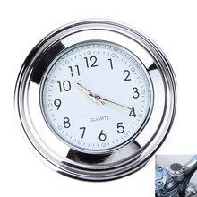 Универсальный мотоцикл руль часы водонепроницаемый рукоятка Бар Крепление Циферблат Топ крепление часы для скутера велосипед двигатель велосипед ATV