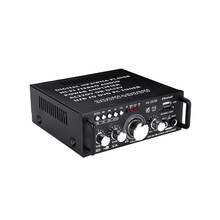 220-240V 600W 2CH Hifi Digital Audio Amplifier 4-16 Not Support Bluetooth Stereo Karaoke Amplifier FM Radio(China)