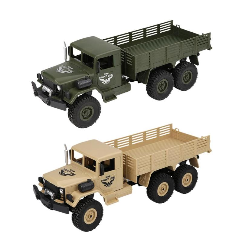 Earnest 6 Wheels Rc Truck Remote Control Model Truck Drive Kidstoys Off-road Rc Truck 40m Model Climbing For Children Birthday Gifts