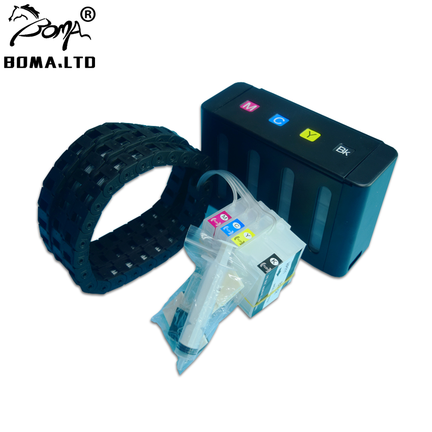 BOMA LTD With ARC Chip 711 T120 T520 Ciss For HP 711 Bulk Ink System With