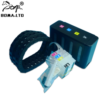 BOMA.LTD With ARC Chip 711 T120 T520 Ciss For HP 711 Bulk Ink System With Home Chain For HP Designjet T120 T520 Plotter картридж hp cz134a 711 cyan для designjet t120 t520 3x29ml