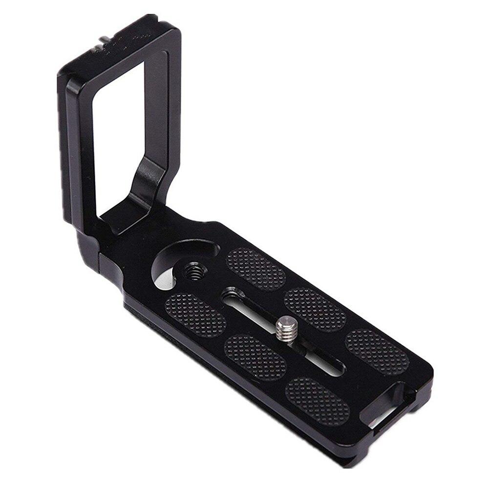 Release Plate Universal Quick L Shape Lightweight SLR Camera Tripod Holder Bracket 110*38*75 Mm