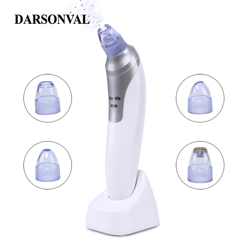 DARSONVAL Diamond Dermabrasion Blackhead Remover Vacuum Pore Cleaner Acne Removal USB Rechargeble Face SPA Lifting Face Care
