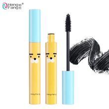 Высококачественная водостойкая Черная тушь для ресниц, стойкая косметика для удлинения глаз, 8,5 г, макияж, бренд HengFang# H6208