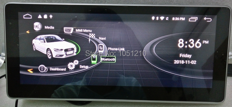 Simphony Ouchuangb Android 9.0 rádio leitor de áudio para Q5 A5 RS4 RS5 A4 b8 com gps multimídia concerto 8 núcleo GB + 64 4 GB