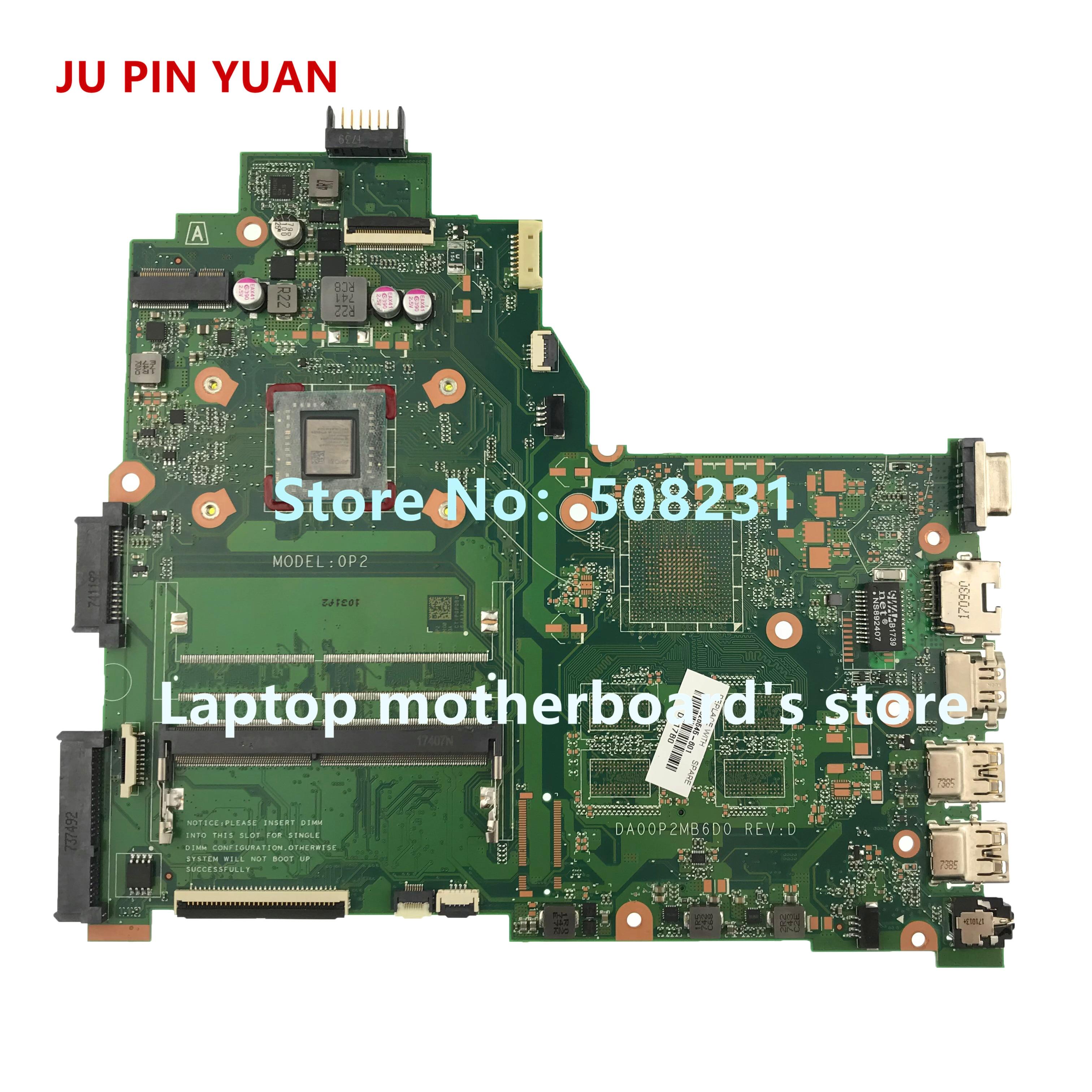 JU PIN YUAN  925525-601 0P2 DA00P2MB6D0 Laptop motherboard For HP 240 G6 Laptop 14-BW Notebook PC E2-9000 fully TestedJU PIN YUAN  925525-601 0P2 DA00P2MB6D0 Laptop motherboard For HP 240 G6 Laptop 14-BW Notebook PC E2-9000 fully Tested