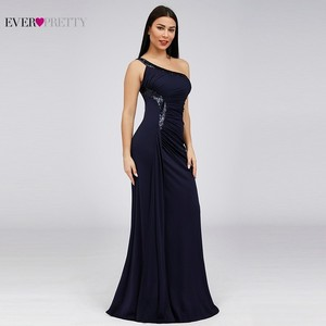 Image 4 - Bodycon High Split Evening Dresses Ever Pretty Sequined One Shoulder Mermaid Elegant Women Long Party Gowns Robe Soiree 2020