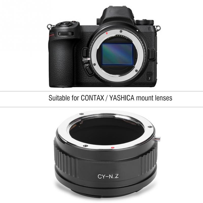 CY NZ Adapter Ring for CONTAX YASHICA Mount Lens for Nikon Z Mount Z6 7 Camera