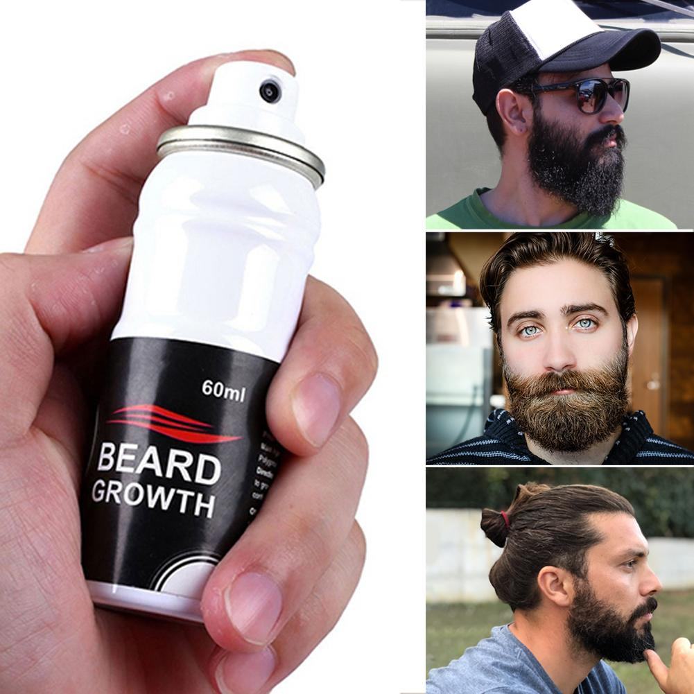 Beard Growth Essence Liquid Plant Ingredient hair mustache Growth Stimulator for Growing Thick Long