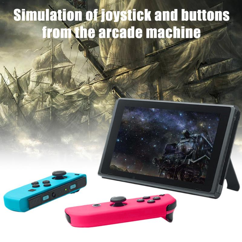 For Switch JoyCon Gamepad Game Switch Wireless Controller NS Left Right  Bluetooth Induction Game Handle Grip With Charging Cable