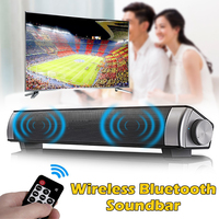Portable Soundbar TV Speaker Wireless bluetooth 3D Stereo Sound Bar with Subwoofer Speaker Home Theater Audio Speakers