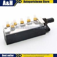 Подвеска клапан подачи воздуха Электромагнитный клапан блок для Mercedes W220 S350 S430 S500 S600 S55 S6 автомобильные аксессуары 2203200258