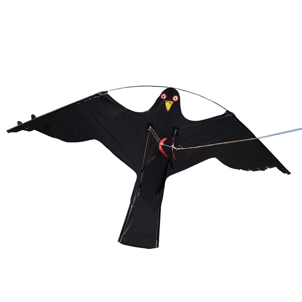 Hawk Kite Große Vogel Kite Scarer Scarecrow Durchführung Vögel Schädlingsbekämpfung Repellents Home Garten Bauernhof Schützt