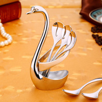 Delicate Elegance Stainless Steel Spoon Set Ice Cream Dessert Teaspoon Set Restaurant And Hotel Quality