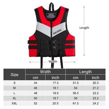 2019 Water Sports Fishing Vest Adult Life Jacket Neoprene Life Vest Kayaking Boating Swimming Drifting Safety Life Vest New 1