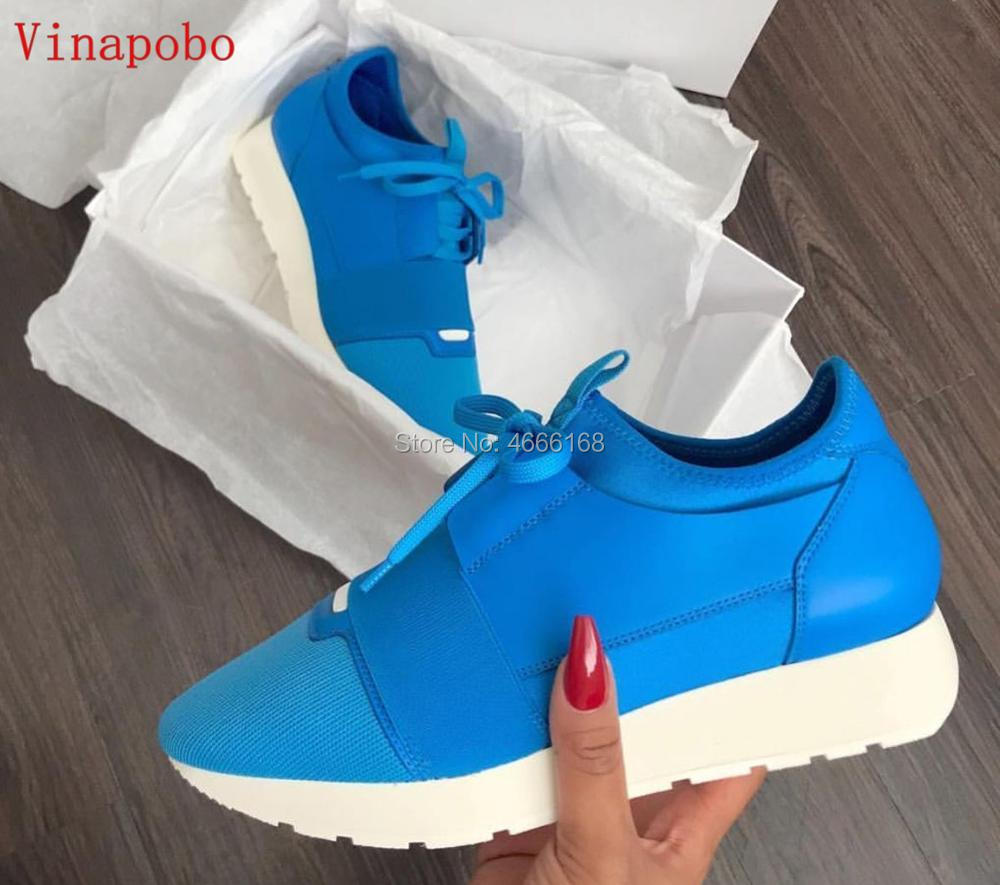 DESIGNER SHOES MENS CASUAL SHOES 2019 NEW BRAND VINAPOBO FASHION Mesh FLATS RUNNERS RACER Low top