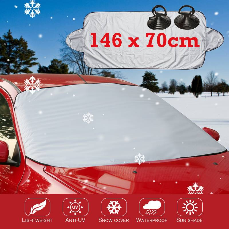 Car Windscreen Protector Shield Frost Ice Snow Sun Shade Summer Winter Cool