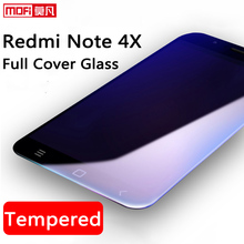 xiaomi redmi note 4x tempered glass full cover pro screen protector ultra thin 9H 2.5D curved mofi amazing