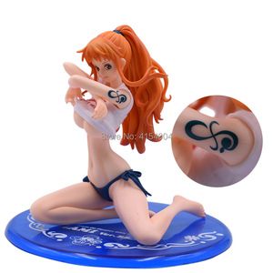 Image 4 - Anime One Piece Nami BB Ver. PVC Action Figure Collectible Model Christmas Gift Toy