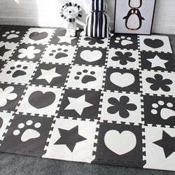 Baby Developing Mat for Childrens Rug EVA Foam Carpet to the Nursery Puzzle Mat for Newborns Baby Gym Play Mat for Kids 10 Pcs