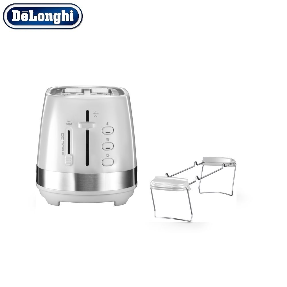 лучшая цена Toasters Delonghi CTLA 2103.W home kitchen appliances cooking toaster fry bread to make toasts