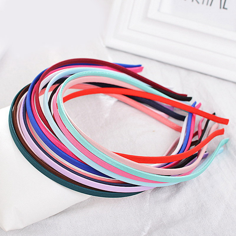 LNRRABC Korean Girls Choth Hair Accessories Diy Headbands Velvet Hairband Furry Hair Circles Women's Headband Nylon Headdress