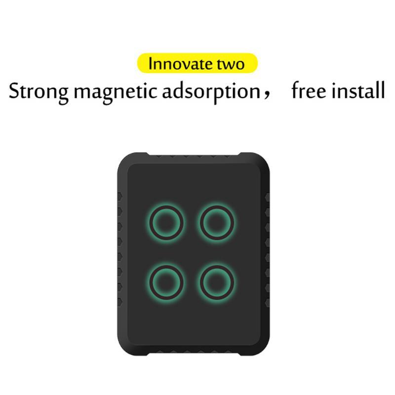 Traqueur GPS de voiture TKSTAR TK800b 6600 mAh 3 ans en veille 2G GPS traqueur de véhicule localisateur aimant étanche moniteur vocal application Web gratuite - 4