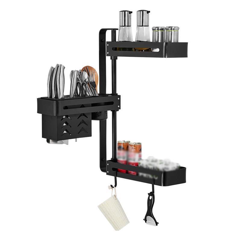 Organizer Dish Drying Almacenaje Cocina Escurreplatos Egouttoir Vaisselle Rotate Cozinha Cuisine Mutfak Kitchen Rack