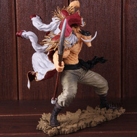SC Edward Newgate 20th Figure One Piece Anime Figurine One Piece Edward Newgate Whitebeard Action Figure Collectible Model Toy