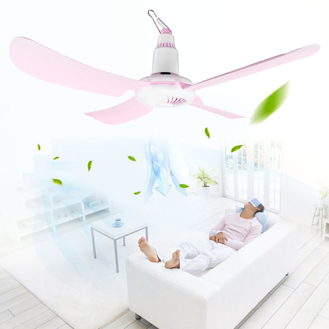 220 V 15 W silencieux en plastique 4 feuilles tourner la Page Mini ventilateur de plafond 60 CM suspendu ventilateur électrique étudiant ventilateurs de plafond doux vent ménage