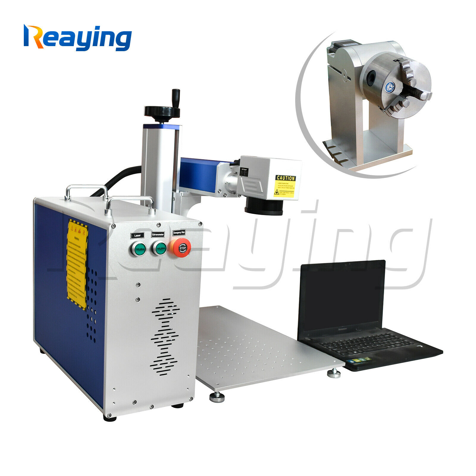Reaying fiber laser metal marking machine stainless steel laser engraving machine with red dotReaying fiber laser metal marking machine stainless steel laser engraving machine with red dot