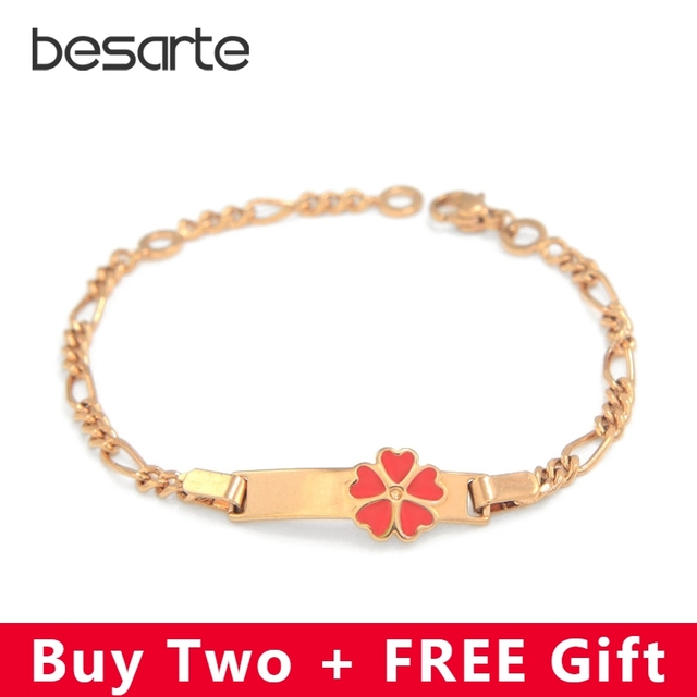 846bbb5df59d Baby Girls Bracelets Kids Jewelry Christening Gold Bangle Heart Bracelet  Bebe Pulsera Pulseira Bracciale Armband Bileklik