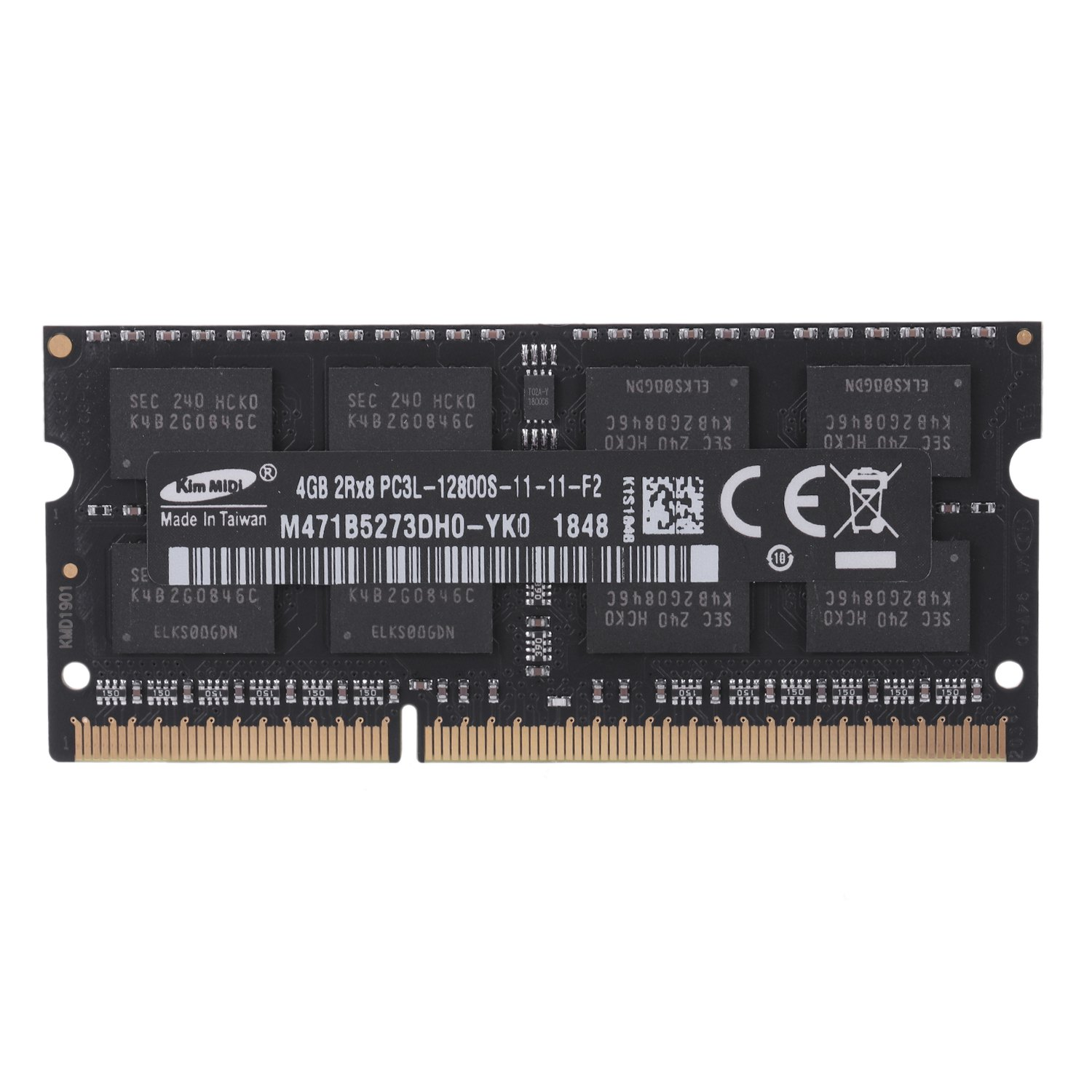Kimmidi Ddr3L 8Gb 1600 Mhz 1.35V Laptop Sodimm Memória Ram Notebook
