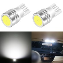 1 Piece Car Interior LED T10 COB W5W 168 Wedge Door Instrument Bulb Lamp Light White