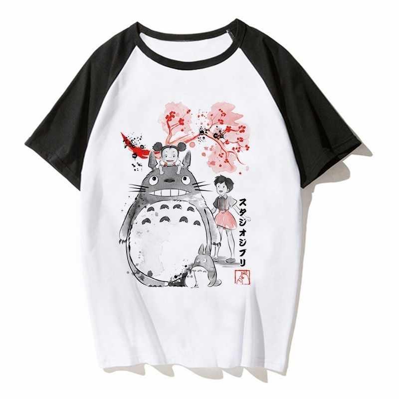 67b6c889f5c3f Detail Feedback Questions about Japanese Anime Totoro Shirt Men Studio  Ghibli Miyazaki Hayao Anime Spirit Away T Shirt Men Women Cartoon Clothes  Summer T ...