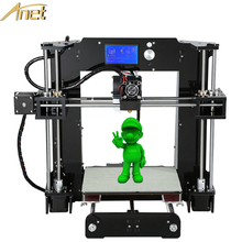2017 Factory Directly Anet 3d Printer Best Sell Fast Speed and High Precision Industrial Diy Sla 3D Printer Kits