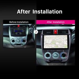 """Image 5 - Seicane Android 9.1 10.1 """"autoradio pour Honda CITY 2011 2012 2013 2014  2016 2Din GPS Tochscreen lecteur multimédia unité de tête"""