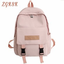 Girl Bag Woman High Middle School Bags Student Schoolbags Campus Backpack Lovely Both Shoulders Bagpack Leisure Time