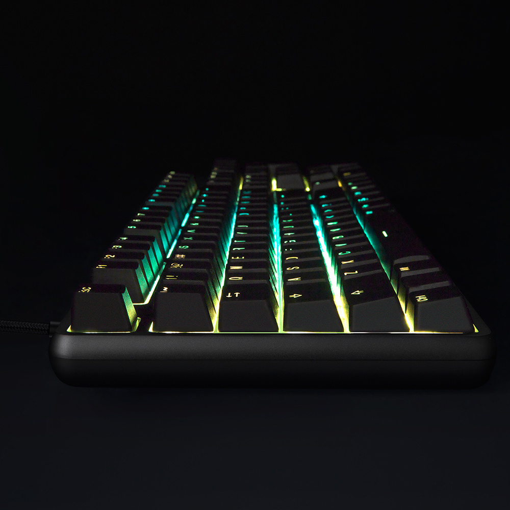 Image 2 - Original Xiaomi Gaming Mechanical Keyboard With RGB Backlight USB 104 Keys Aluminum Alloy Cover Keycaps Keyboard Waterproof-in Keyboards from Computer & Office