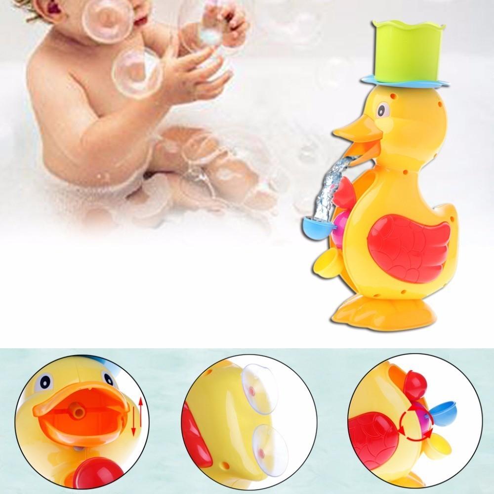 Baby Bath Toys Duck Showers Storage Bag Large Mesh Beach Bath Portab Foldable Bag Baby Shower Games Reborn Baby Doll Water Games Classic Toys