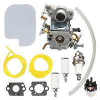 Air Filter Fuel Pipe Carburetor Kit For Zama C1M W26C+530057925 Gas Chainsaw Engine Accessories