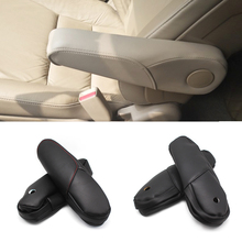 For Honda CRV 2007 2008 2009 Black Car Door Handle Armrest Panel / Seat Protective Microfiber Leather Cover