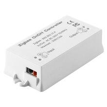 Zigbee вкл/выкл управление Лер умный переключатель приложение дистанционное управление Умный домашний Модуль светильник диммер Управление Лер AC85-265V 10A